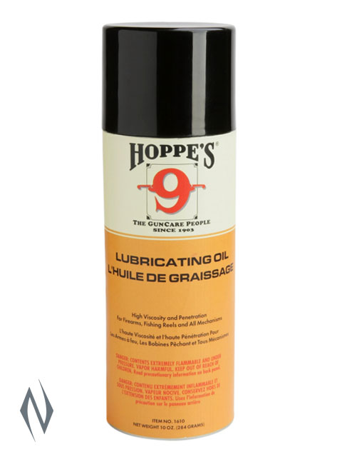HOPPES NO 9 LUBRICATING OIL 10OZ AEROSOL Image