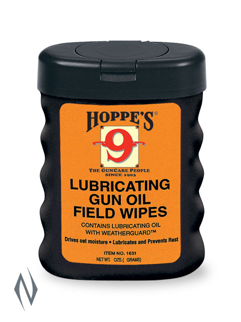 HOPPES NO 9 LUBRICATING GUN OIL WIPES Image