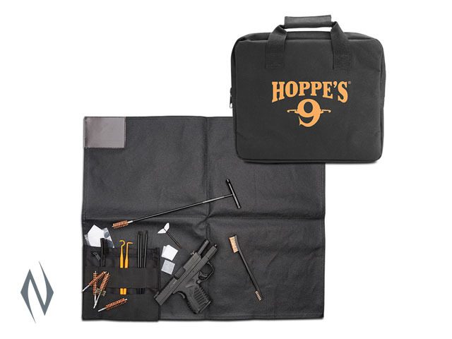 HOPPES DRY CLEANING KIT FIELD WITH MAT Image