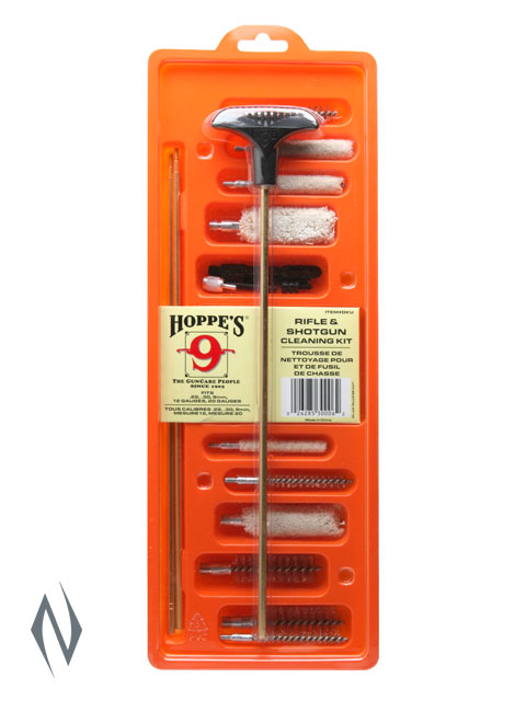 HOPPES DRY CLEANING KIT UNIVERSAL ALL BRUSHES AND BRASS ROD Image