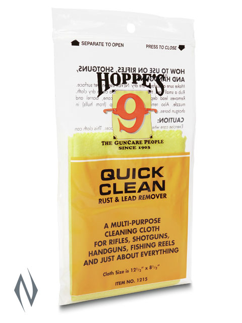 HOPPES QUICK CLEAN RUST & LEAD REMOVER CLOTH Image