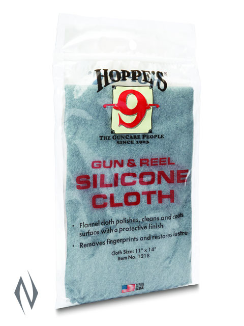 HOPPES GUN & REEL SILICONE CLOTH Image