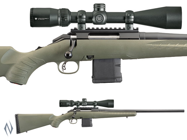 RUGER AMERICAN PREDATOR 223 PACKAGE AR STYLE MAGAZINE 10 SHOT Image