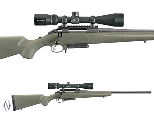 RUGER AMERICAN PREDATOR 6.5 CREEDMOOR PACKAGE AI STYLE MAGAZINE 3 SHOT Image