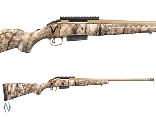 RUGER AMERICAN GO WILD CAMO 300 WIN 3 SHOT Image