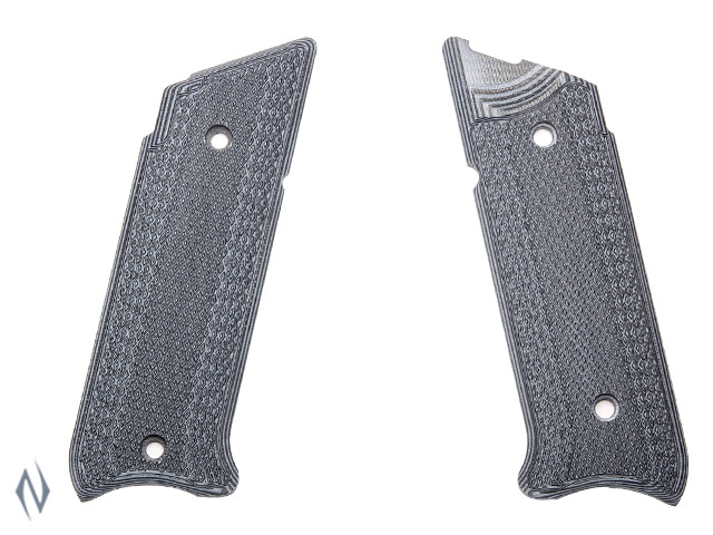 PACHMAYR G10 TACTICAL GRIPS RUGER MKIV GREY / BLACK FINE Image