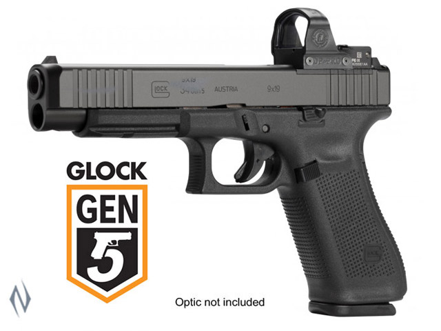 GLOCK 34 9MM FULL SIZE 10 SHOT GEN5 FS MOS 135MM Image