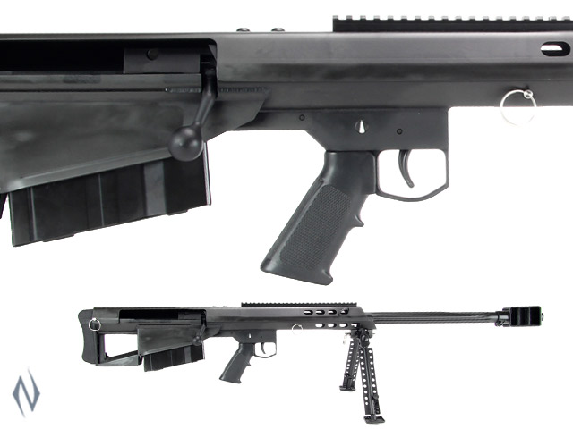 "BARRETT M95 50 BMG 29"" FLUTED BLACK 5 SHOT Image"