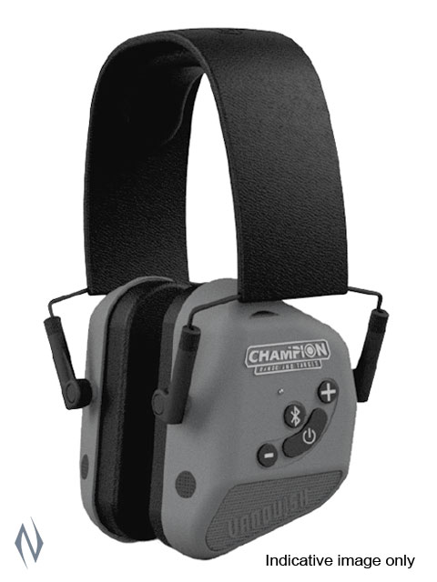 CHAMPION EAR MUFFS ELECTRONIC VANQUISH ELITE BT BLUETOOTH GREY Image