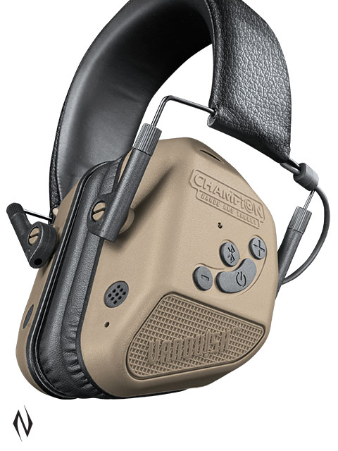 CHAMPION EAR MUFFS ELECTRONIC VANQUISH ELITE BT BLUETOOTH BURNT BRONZE Image