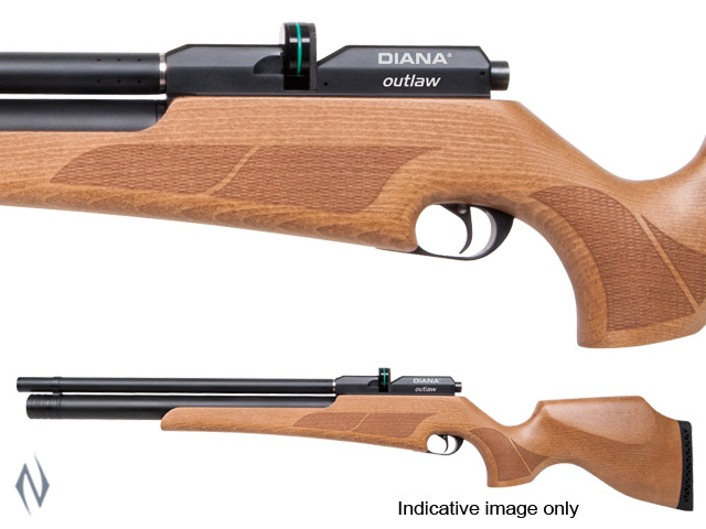 DIANA OUTLAW PCP .25 9 SHOT AIR RIFLE Image