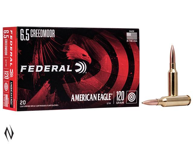 FEDERAL 6.5 CREEDMOOR 120GR OPEN TIP AMERICAN EAGLE Image