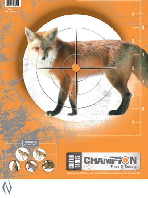 CHAMPION TARGET CRITTER SERIES 10 PACK Image