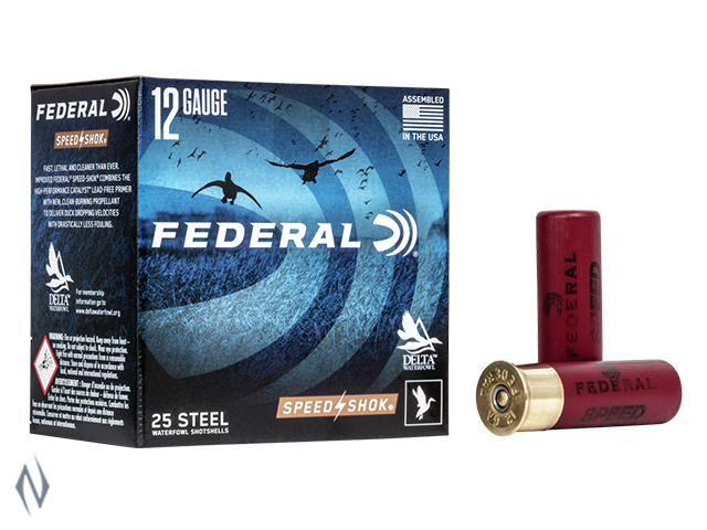 "FEDERAL 12G 3"" 36GR 4 STEEL SPEEDSHOK HV 1450 FPS Image"