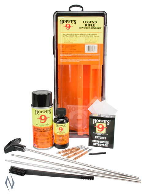 HOPPES LEGEND CLEANING KIT BOXED UNIVERSAL RIFLE WITH BRUSHES Image