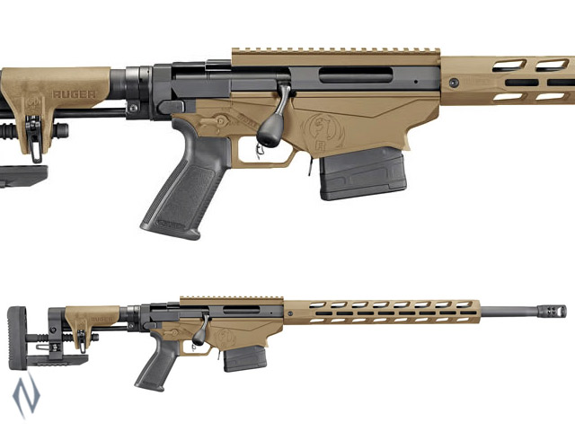 "RUGER PRECISION GEN 3 RIFLE 308 20"" 10 SHOT BARRETT BROWN Image"