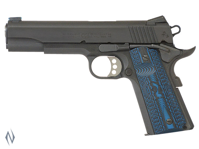COLT SERIES 70 GOVT COMP BLUE 45 ACP 127MM Image