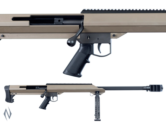 "BARRETT M99 50 BMG 32"" SINGLE SHOT FDE WITH BIPOD Image"