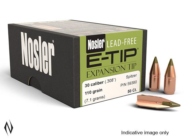 NOSLER 310 (7.62X39) 123GR SP E-TIP 50PK Image