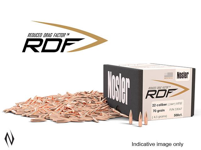 NOSLER RDF 224 77GR HPBT 500PK Image