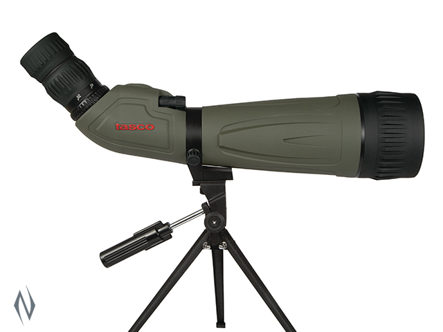 TASCO SPOTTING SCOPE KIT 20-60X80 GREY ANGLED Image