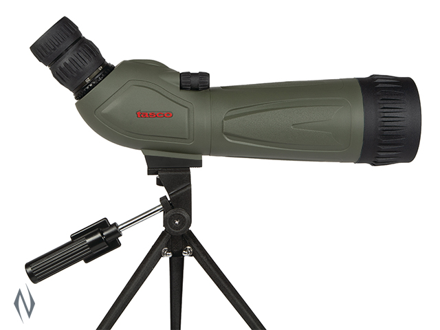 TASCO SPOTTING SCOPE KIT 20-60X60 GREY ANGLED Image