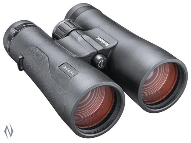 BUSHNELL ENGAGE DX 12X50 EXO BLACK ROOF BINOCULAR Image