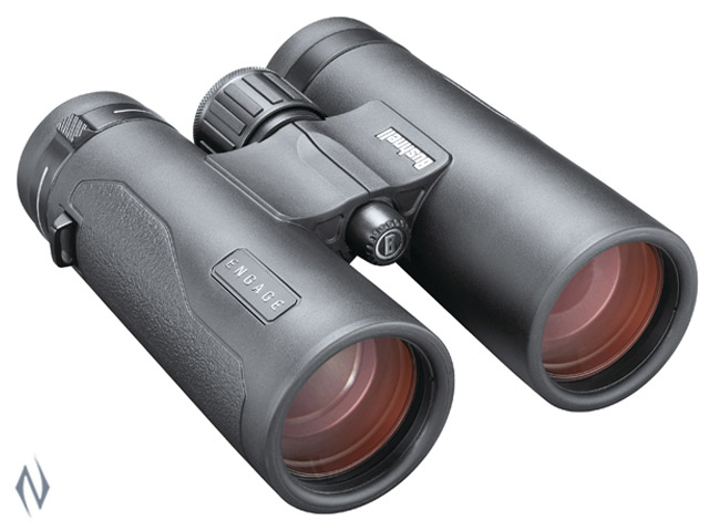 BUSHNELL ENGAGE DX 10X42 EXO BLACK ROOF BINOCULAR Image