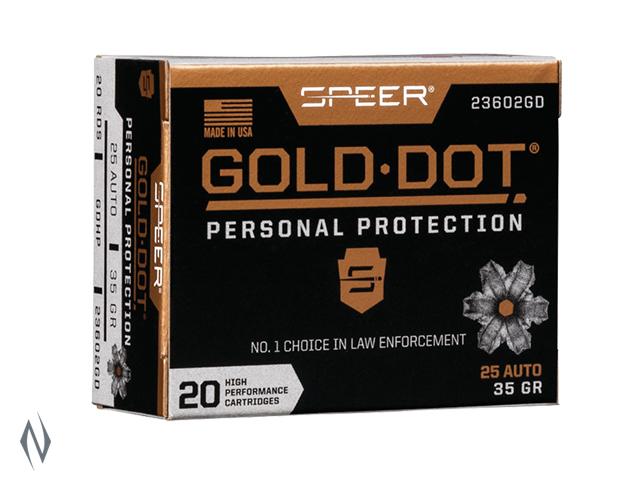 SPEER AMMO 357 SIG 125GR HP GOLD DOT Image