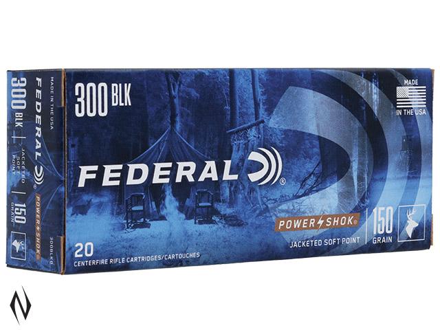 FEDERAL 300AAC BLACKOUT 150GR SP POWER-SHOK Image