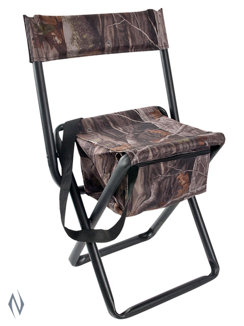 ALLEN VANISH FOLDING STOOL G2 CAMO WITH BACK Image