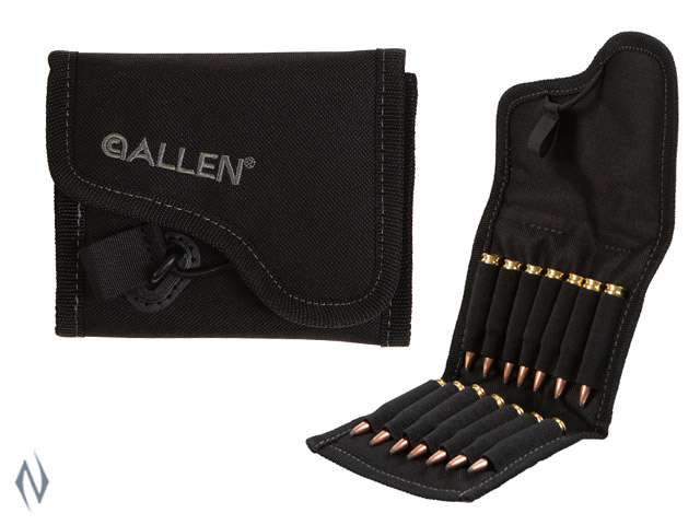 ALLEN ENDURA RIFLE AMMO BELT POUCH BLACK 14 RND Image