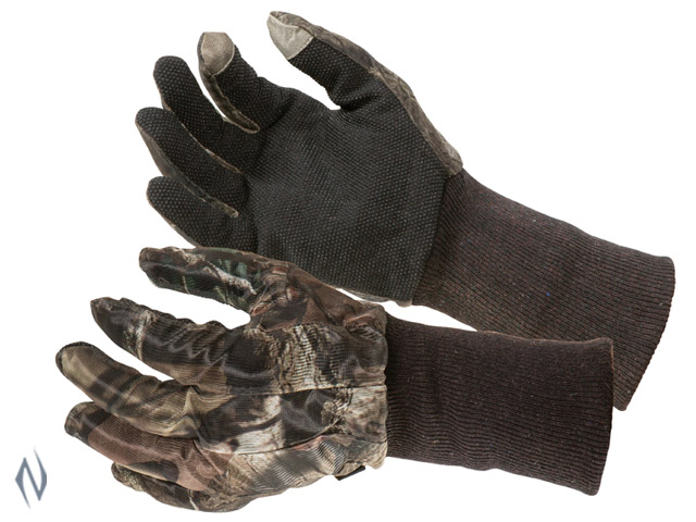 ALLEN VANISH MESH GLOVES MOSSY OAK CAMO Image
