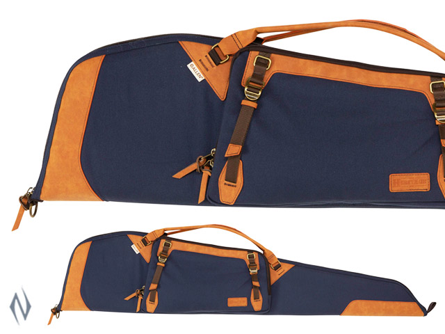 "ALLEN HERITAGE LARAMIE SCOPED RIFLE CASE NAVY 48"" Image"