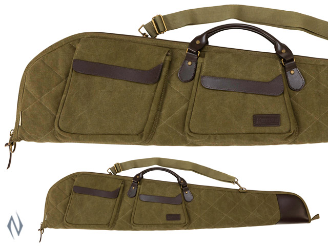 "ALLEN HERITAGE NORTH PLATTE SCOPED RIFLE CASE OLIVE 48"" Image"