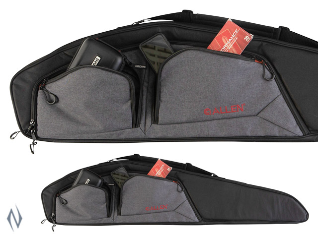 "ALLEN TRIGO SCOPED SIDE ENTRY RIFLE CASE BLACK / HEATHER 48"" Image"
