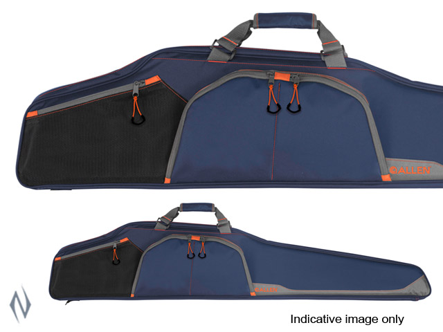 "ALLEN SAWATCH SCOPED RIFLE CASE BLUE 46"" Image"
