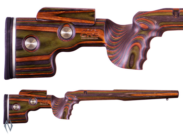 "GRS SPORTER STOCK SAUER 100 GREEN MOUNTAIN + 1"" LIMBSAVER PAD Image"
