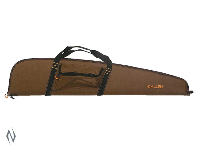 "ALLEN USA SCOPED RIFLE CASE MOCHA / BLK / ORANGE 46"" Image"