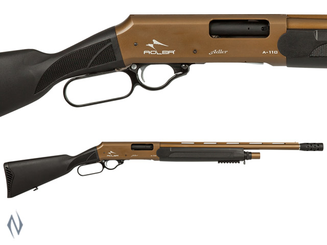 "ADLER A110 12G 20"" BRONZE TACTICAL LEVER ACTION SHOTGUN Image"
