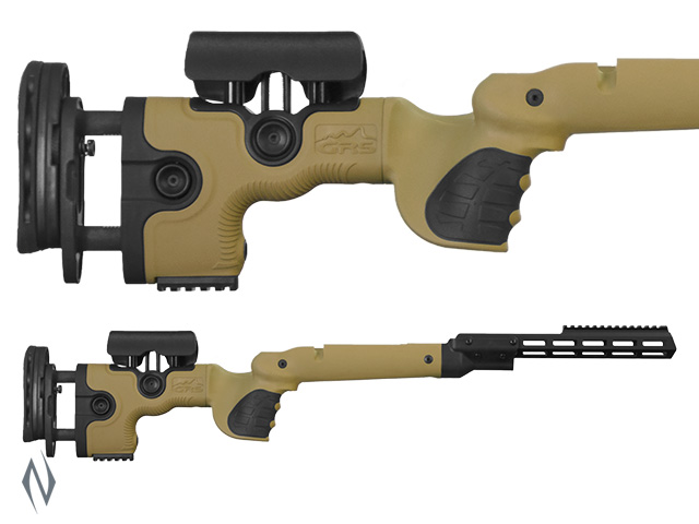 GRS WARG STOCK REM 700 BDL LA BROWN Image