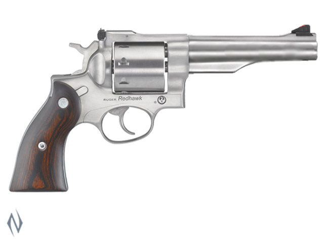 "RUGER NEW REDHAWK 357 MAG 8 SHOT STAINLESS 140MM 5.5"" Image"