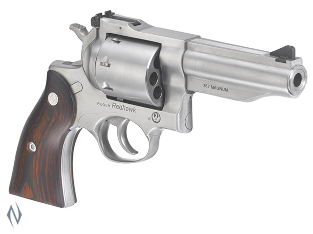"RUGER NEW REDHAWK 357 MAG 8 SHOT STAINLESS 107MM 4.2"" Image"