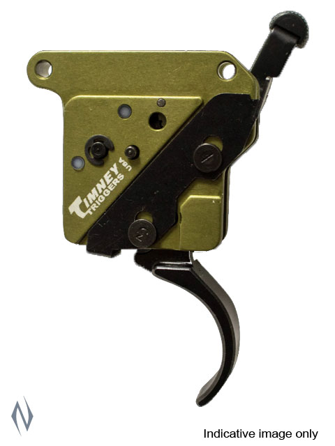 TIMNEY TRIGGER REM 700 ELITE HUNTER THIN BLACK 3LB LEFT HAND Image