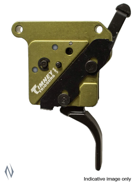 TIMNEY TRIGGER REM 700 ELITE HUNTER STRAIGHT BLACK 3LB Image