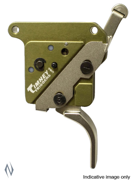 TIMNEY TRIGGER REM 700 ELITE HUNTER STRAIGHT NICKEL 3LB LEFT HAND Image