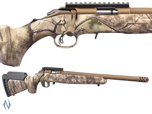 "RUGER AMERICAN RIMFIRE 22WMR 18"" GO WILD Image"