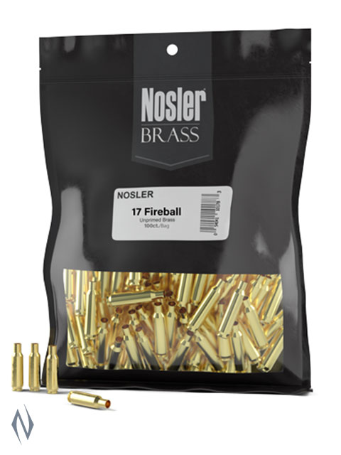 NOSLER BULK BRASS 17 REMINGTON FIREBALL 100PK Image