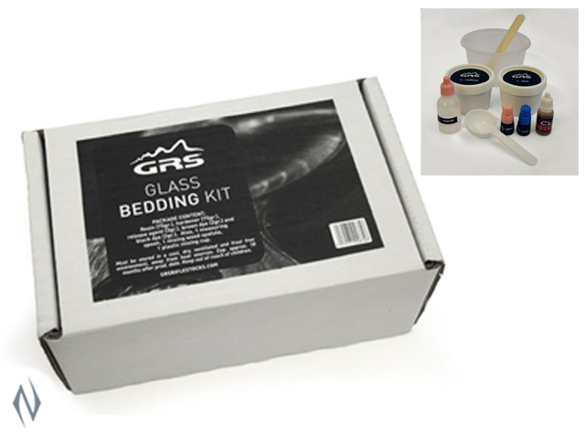 GRS SMALL GLASS BEDDING KIT 75GR Image