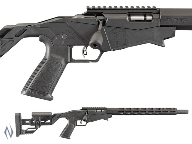 """NSW RUGER PRECISION RIMFIRE RIFLE 17HMR 18"""" 9 SHOT PINNED Image"""